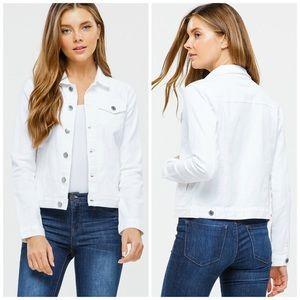 Blue Age Jeans USA Jackets & Coats - NEW! Lightweight White Denim Jean Jacket